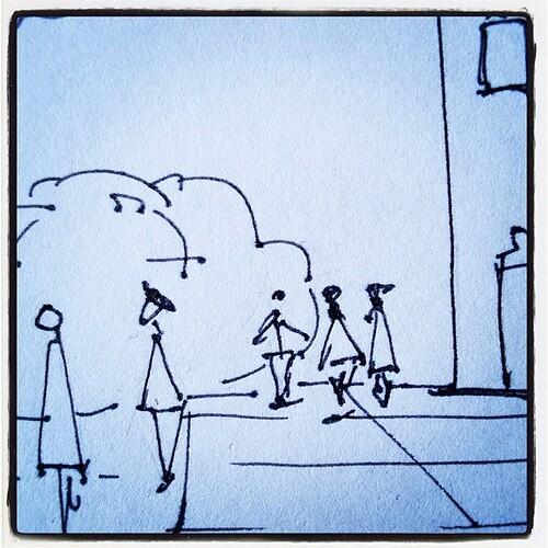 Let's chat!!!! Choba ink on paper, by me!! @funknjazzy @manuworld by *manuworld*