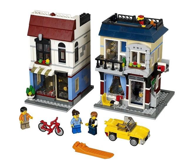 LEGO Creator 31026 - Bike Shop & Cafe