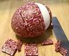Pink fractal egg