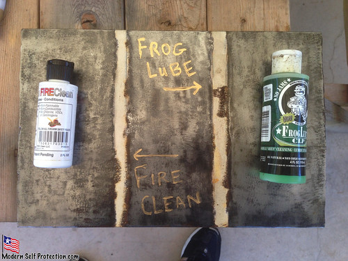 FireClean vs Frog Lube