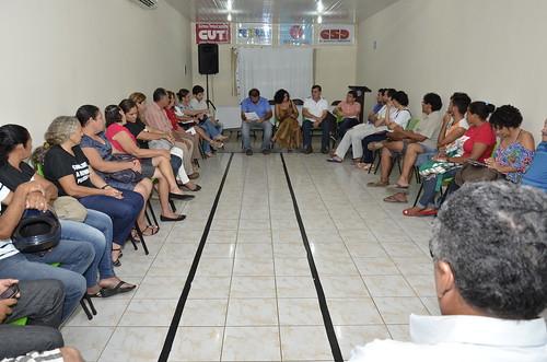 Debate sobre Reforma da Previdência com a Frente Brasil Popular no Crato