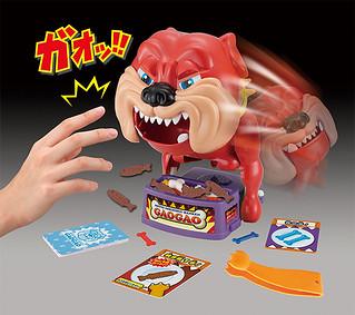 全新升級、追加超難模式!超熱賣玩具「看門狗GaoGao」威力加強版 も~っとドキドキ!!番犬ガオガオ-ネコの手MIX-