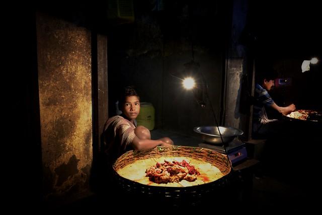 Meat market, Kolkata
