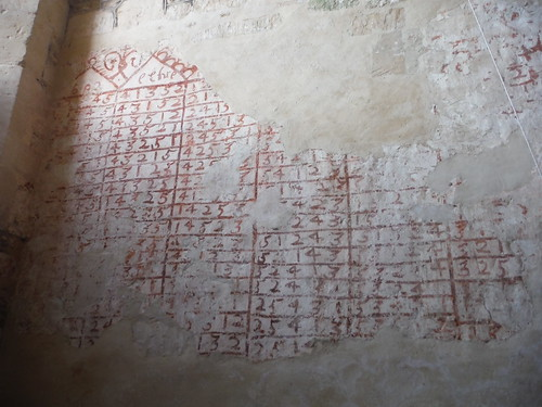 Graffito in St. Giles, Imber Church