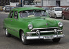 1951 Green Ford Custom Sedan Taxi. Havana, Cuba