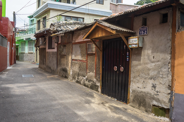 Colonial era house, Yeosu, South Korea
