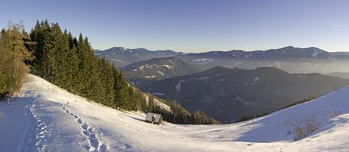 Winter trekking in Styria