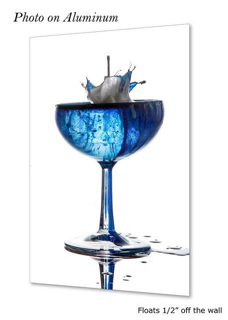 Blue Splash #0944 | ©2017 - LiquidsinMotion.us.com