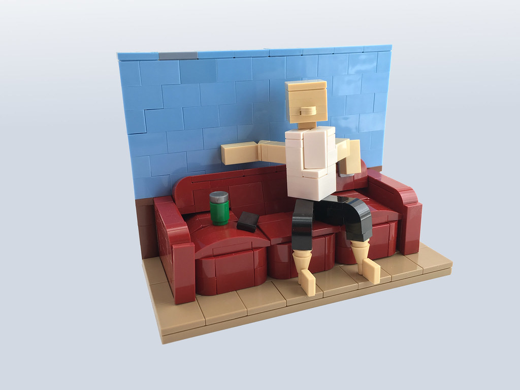 ABS – Chill Time (custom built Lego model)
