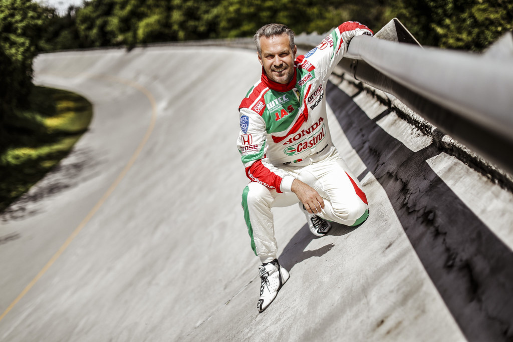 MONTEIRO Tiago (prt) Honda Civic team Castrol Honda WTC ambiance portrait during the 2017 FIA WTCC World Touring Car Race of Italy at Monza, from April 28 to 30  - Photo Francois Flamand / DPPI