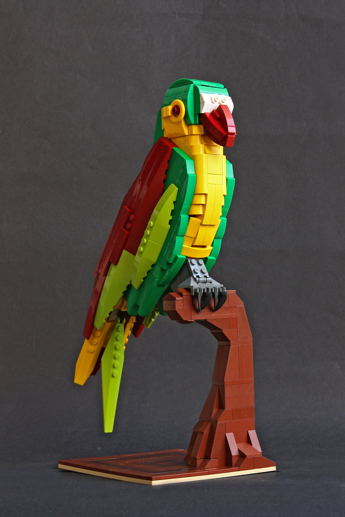 Bird of Paradise (custom built Lego model)