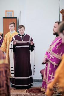 Литургия в Спасском соборе 500