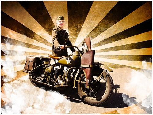 Harley Davidson WLA 1943