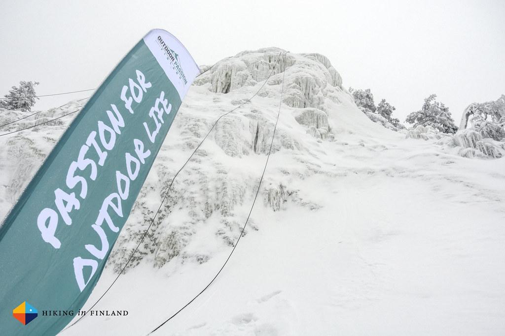 Iceclimbing in Ruka