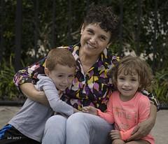Lulu and Her Grandchildren