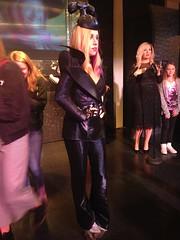 Lady Gaga figure at Madame Tussauds London