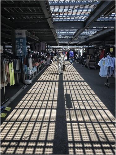 Flea market at Ohi Race Course (Tokyo)