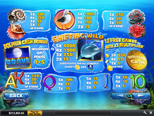 free Dolphin Cash slot mini symbol