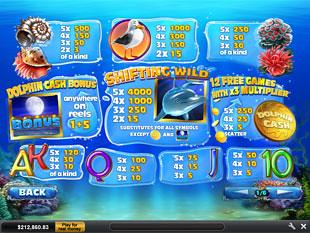 free Dolphin Cash slot mini symbol