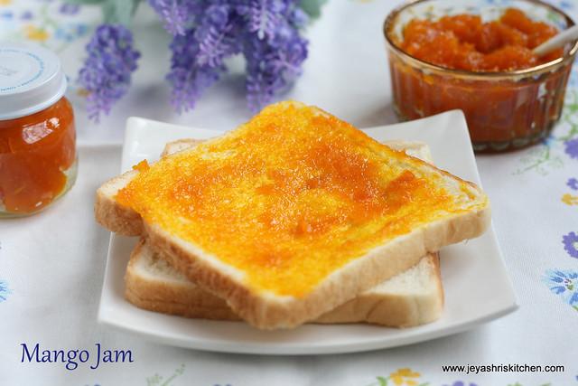Mango jam recipes easy