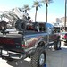 Lifted F-250 Sporting a Black ATV Carrier at SEMA