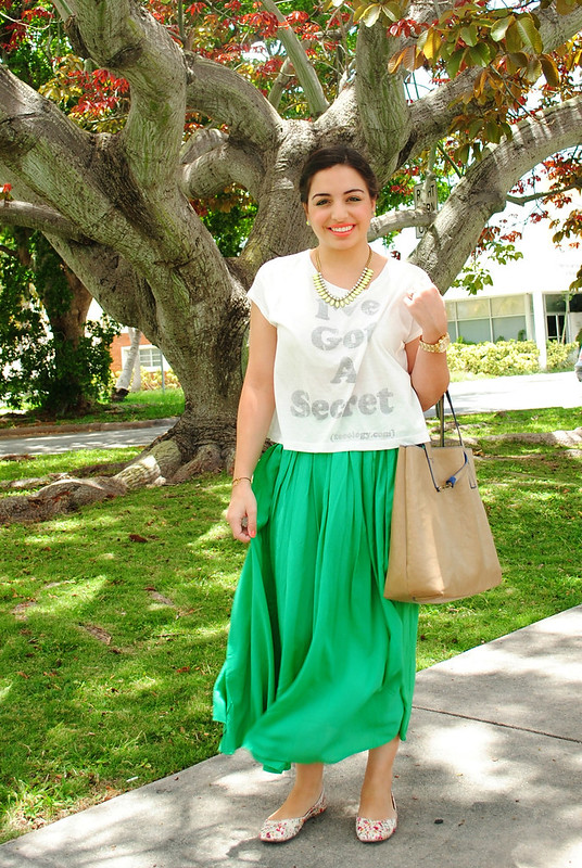DSC_0728_flowy green maxi skirt