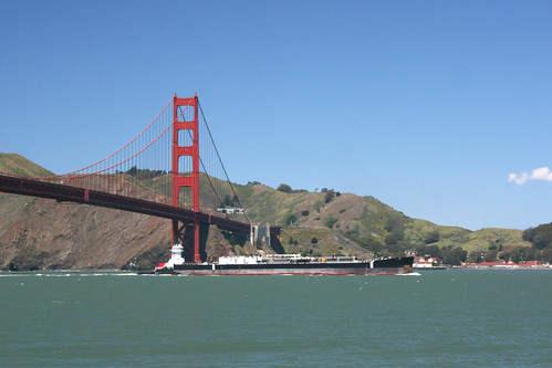 Passing the Golden Gate