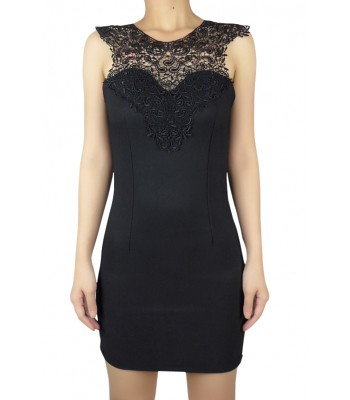 crochet-lace-neckline-bodycon-dress-lush-black