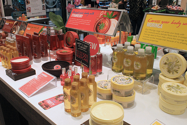 The Body Shop Silverburn Scottish Blogger Event