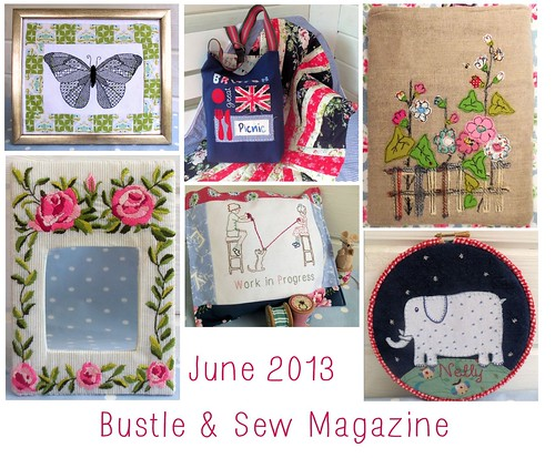 June 2013 Bustle & Sew Magazine