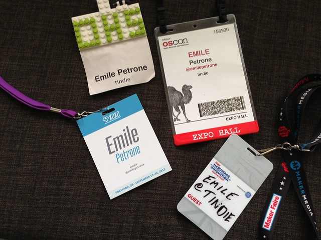 OSCON, XOXO, and Make Hadware Innovation<br /><br /><br /><br /> Workshop