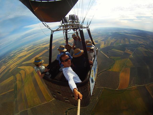 Volar en globo por Sevilla