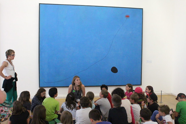 French School Children Learn about Miro