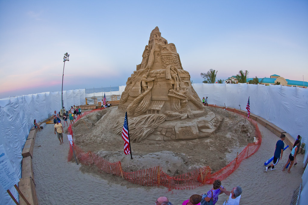 30+FT Sand Castle in Point Pleasant, New Jersey