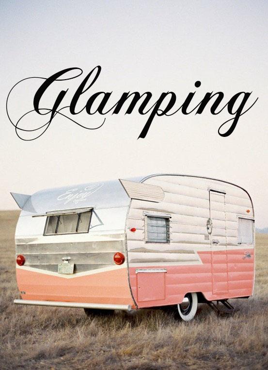 Glamping Vintate Trailer