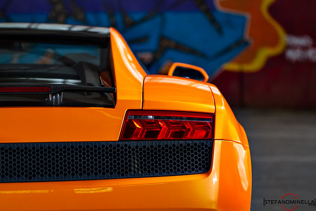 Lamborghini Gallardo LP 550-2 Bicolore - Rear Lines