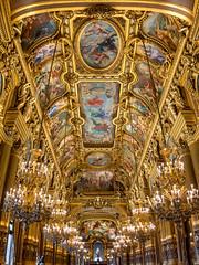 Grand Foyer of the Opera Garnier, Paris