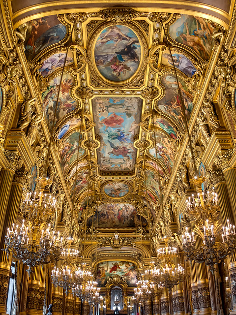 Grand Foyer of the Opera Garnier, Paris
