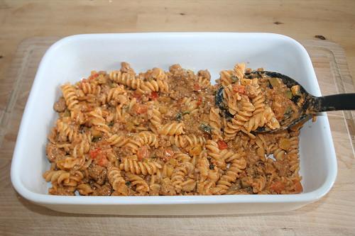 39 - Mit Nudelmischung befüllen / Fill with pasta mix