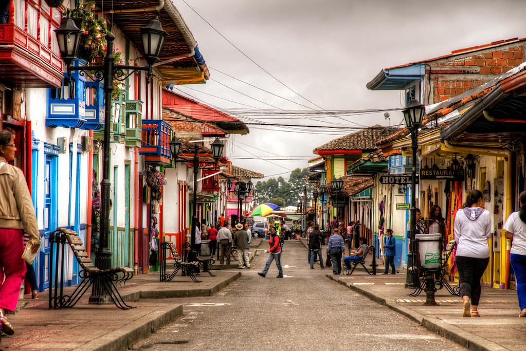 Imagen de la Calle Real - Imágenes de Salento, Quindio