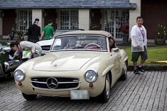 supercar(0.0), automobile(1.0), vehicle(1.0), automotive design(1.0), mercedes-benz(1.0), mercedes-benz 190sl(1.0), mercedes-benz 300sl(1.0), compact car(1.0), antique car(1.0), classic car(1.0), vintage car(1.0), land vehicle(1.0), sports car(1.0),