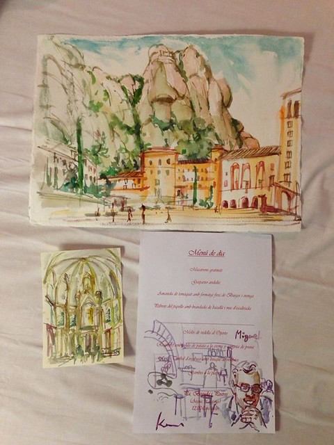 Memories from Capellades and Monserrat