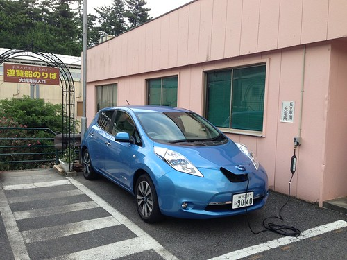 鷲羽山下電ホテル 200V普通充電コンセントがあります。