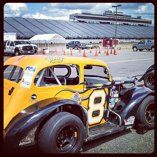 Road Course #racing at #NHMS today #racecar #uslegends #8 #legends