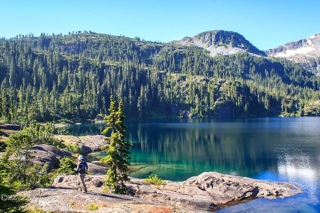 Moat lake, Strathcona park BC