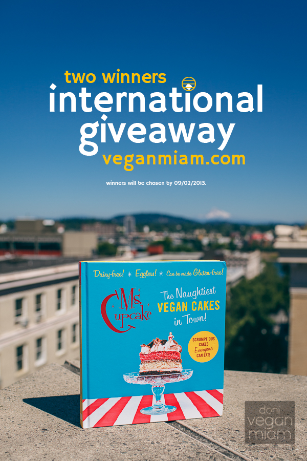 Ms Cupcake Cookbook Review + International Giveaway