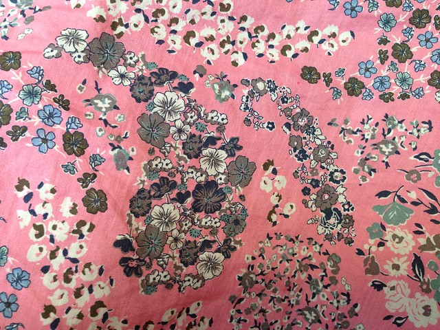 Pink Vintage Fabric (skirt)