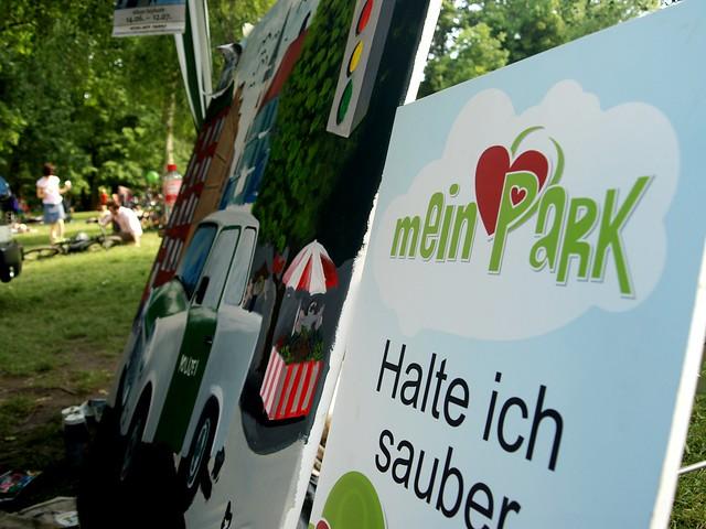 Parkkampagne www.meinpark.info