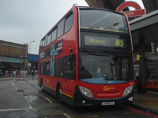 London Central E103 on Route 185, Vauxhall