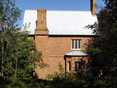 English style Anglican manse in Carcoar. Built in 1849. Edmund Blacket the famous architect designed the Anglican church opposite in 1845 making it the second oldest church west of the Great Dividing Range in NSW.
